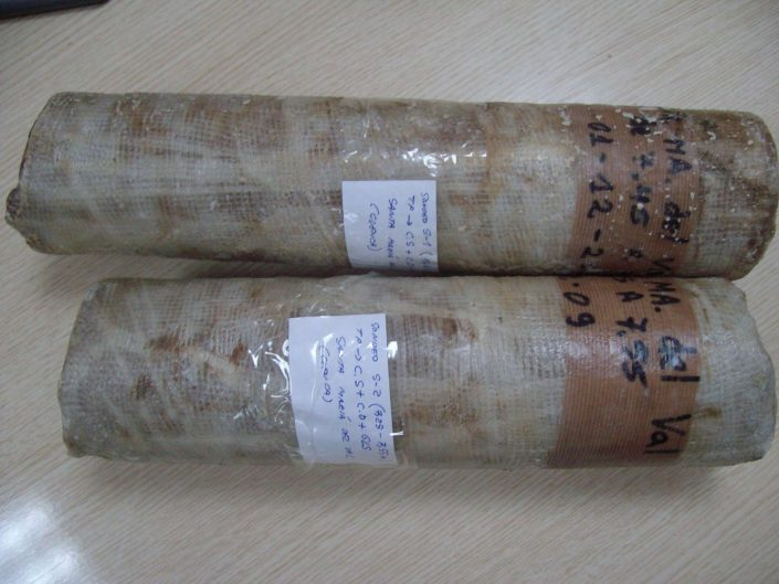 Laboratorio de materiales - muestras parafinadas